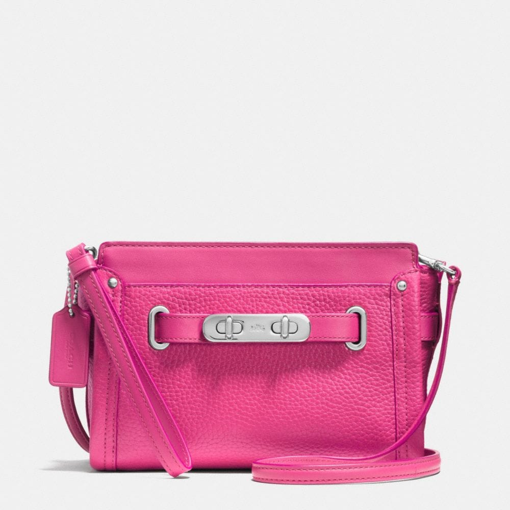 COACH SWAGGER WRISTLET IN PEBBLE LEATHER