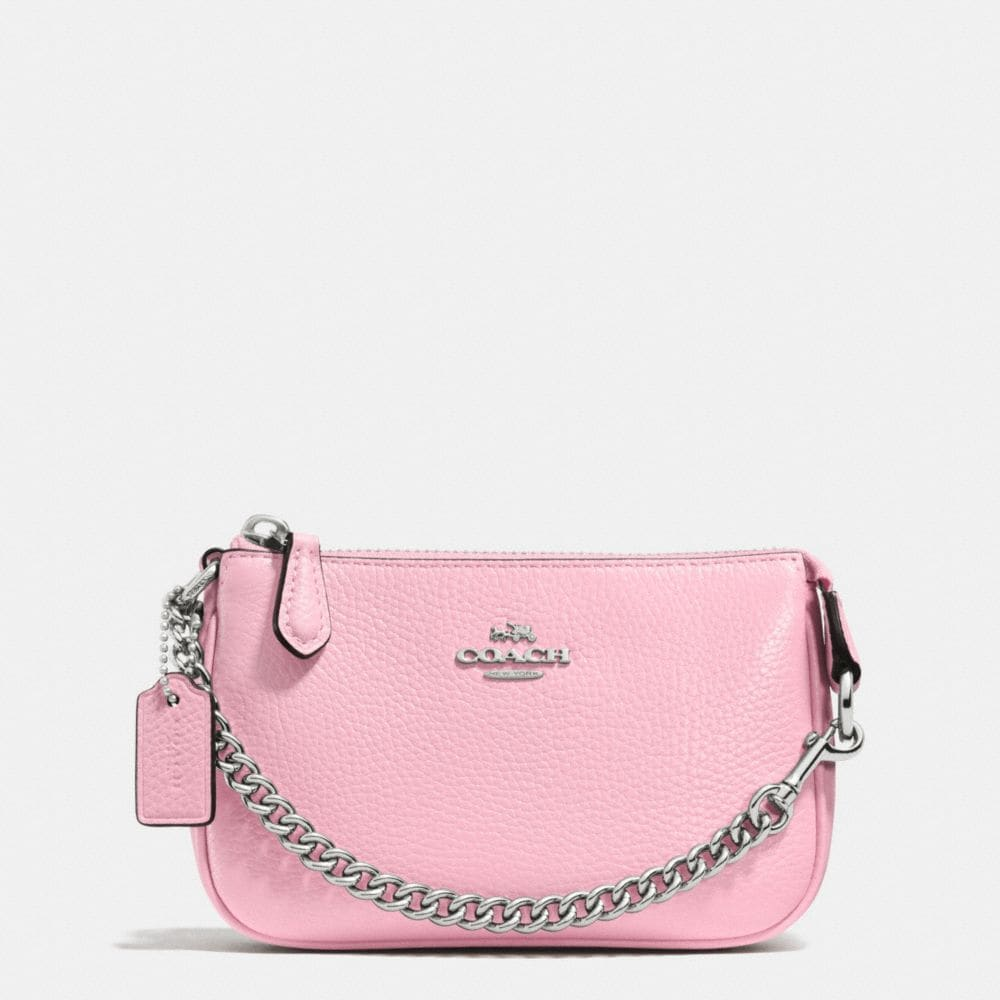 NOLITA WRISTLET 15 IN PEBBLE LEATHER