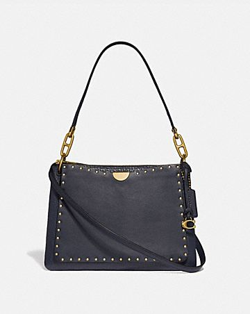 DREAMER SHOULDER BAG WITH RIVETS ... 91317e28a5