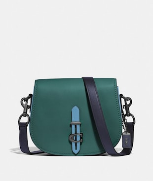 SADDLE IN COLORBLOCK