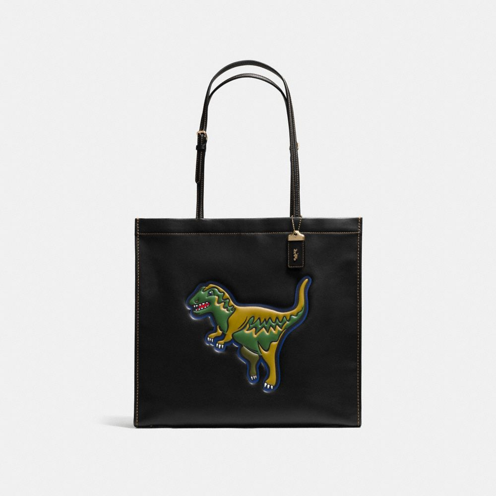 REXY SKINNY 34 TOTE IN GLOVETANNED LEATHER