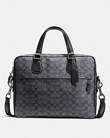 HUDSON 5 BAG IN SIGNATURE COATED CANVAS