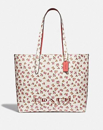 54a7fbd1c344 HIGHLINE TOTE WITH FLORAL PRINT ...