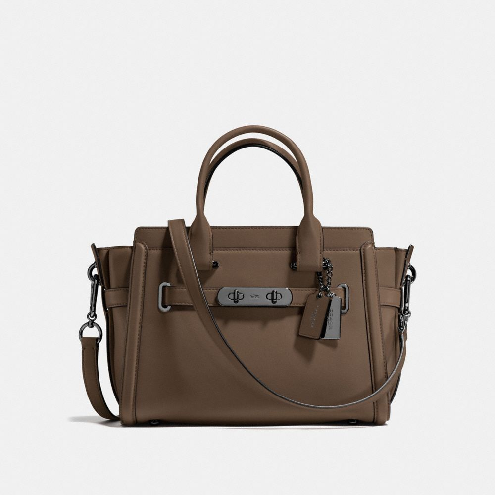 COACH SWAGGER 27 IN GLOVETANNED LEATHER