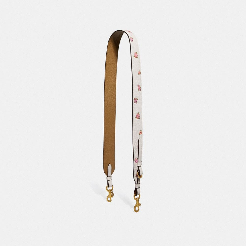 STRAP WITH FLORAL PRINT