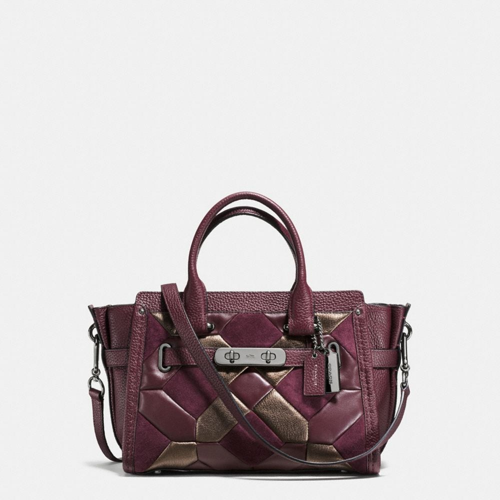 COACH SWAGGER 27 IN MIXED MATERIALS CANYON QUILT