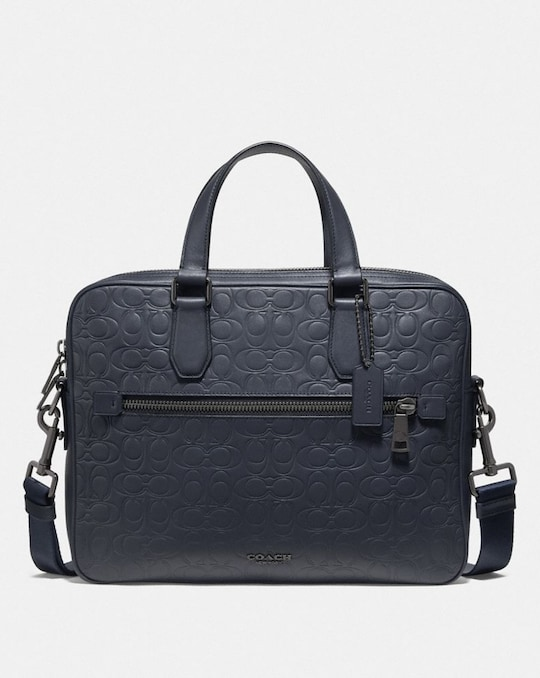 KENNEDY BRIEF IN SIGNATURE LEATHER