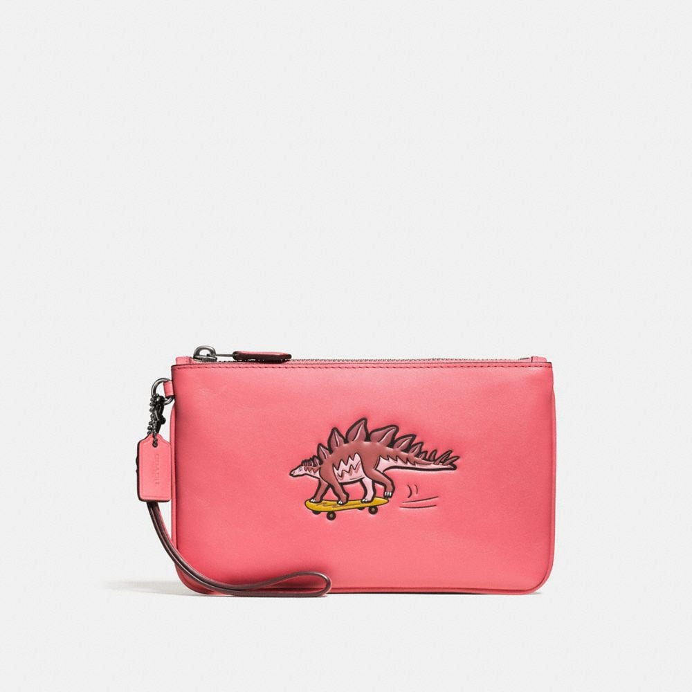 SMALL WRISTLET WITH COACH BEASTS