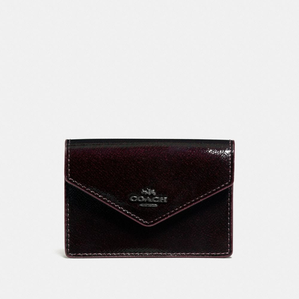 ENVELOPE CARD CASE IN PATENT LEATHER