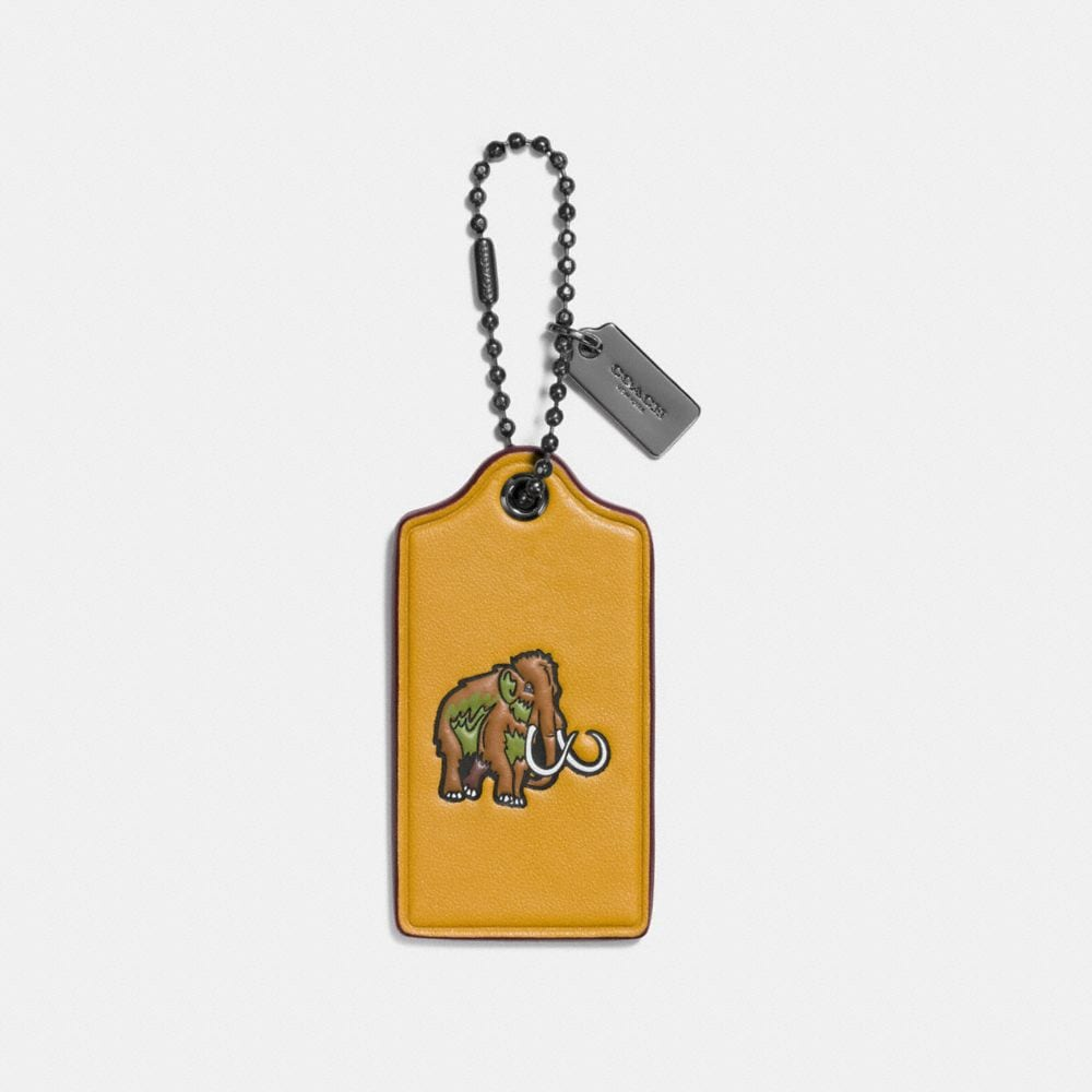 WOOLLY HANGTAG IN GLOVETANNED LEATHER