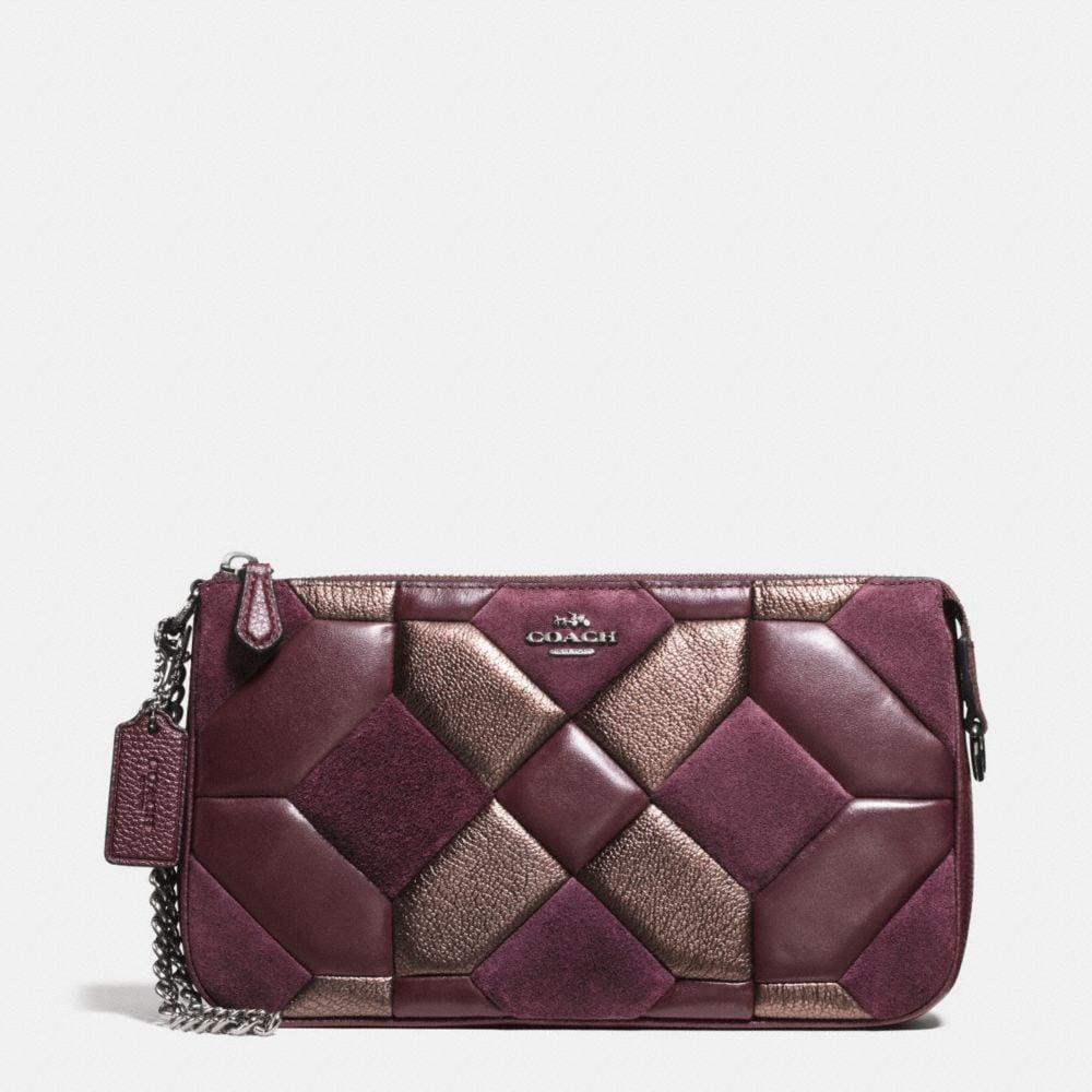 NOLITA WRISTLET 24 IN MIXED MATERIALS CANYON QUILT