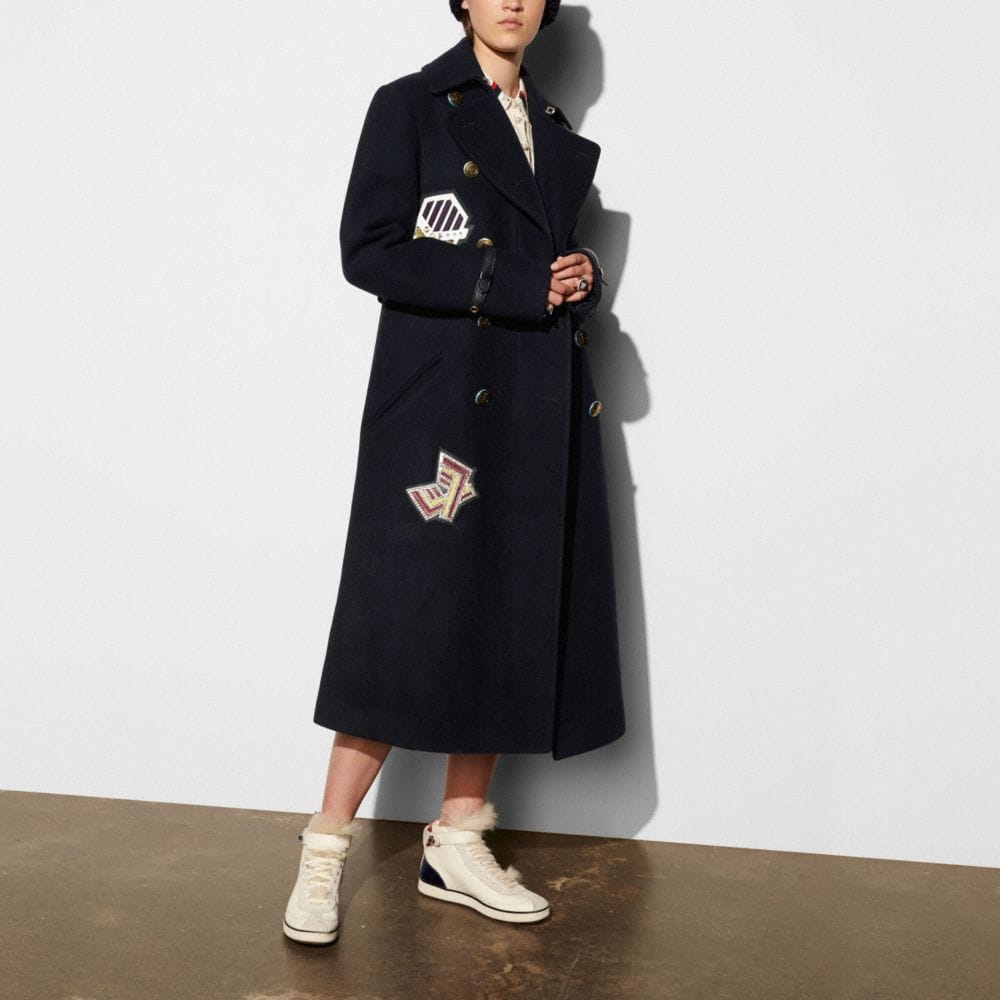 NAVAL LONG COAT