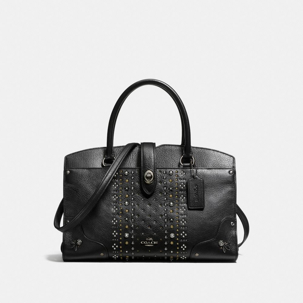 MERCER SATCHEL 30 WITH BANDANA RIVETS