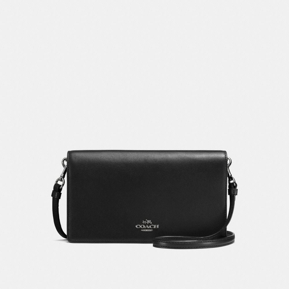 FOLDOVER CROSSBODY IN GLOVETANNED LEATHER