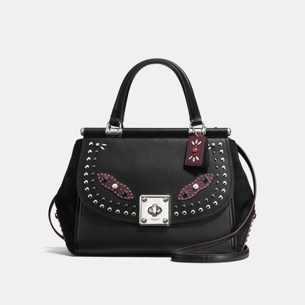 WESTERN RIVETS DRIFTER CARRYALL IN GLOVETANNED LEATHER