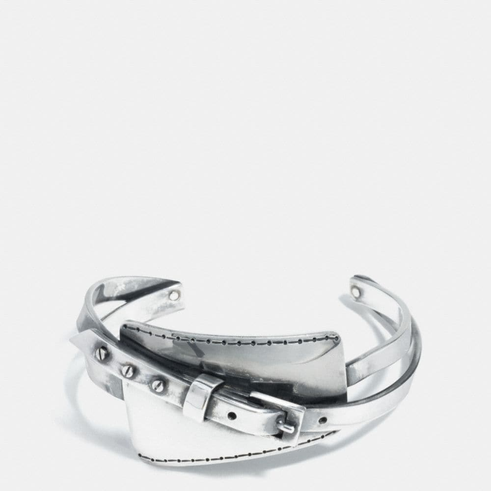 METAL HANGTAG BUCKLE CUFF