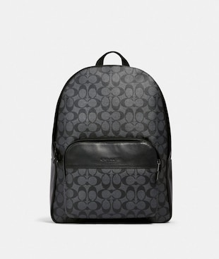 HOUSTON BACKPACK IN SIGNATURE CANVAS