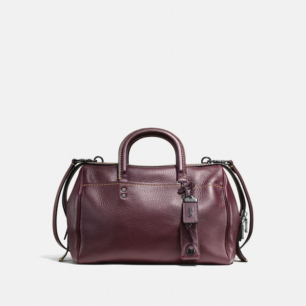ROGUE SATCHEL IN GLOVETANNED PEBBLE LEATHER