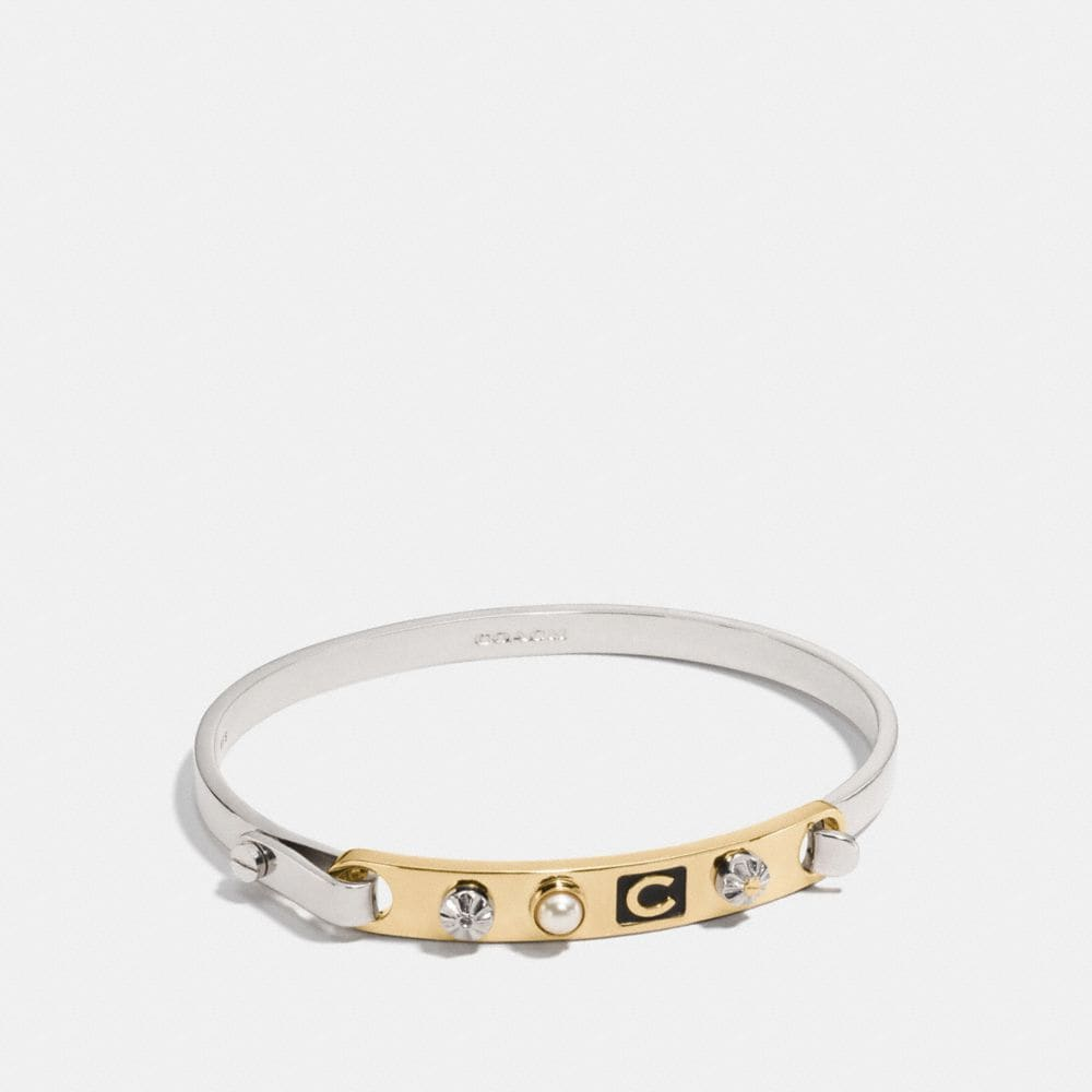 COACH ICONS TENSION BANGLE