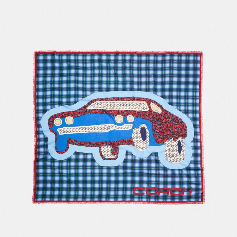 CARS PATCHWORK OVERSIZED SQUARE