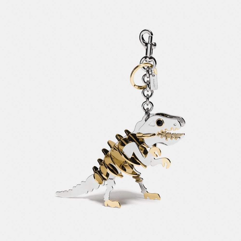 LARGE METAL REXY BAG CHARM