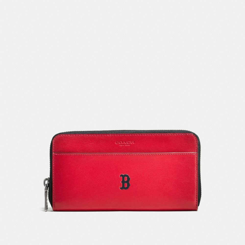 MLB ACCORDION WALLET IN SPORT CALF LEATHER