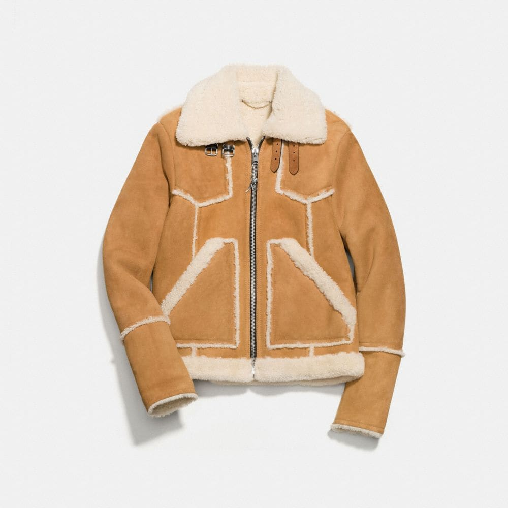 SHEARLING LUMBER JACKET