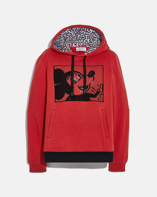 SWEATSHIRT À CAPUCHE DISNEY MICKEY MOUSE X KEITH HARING