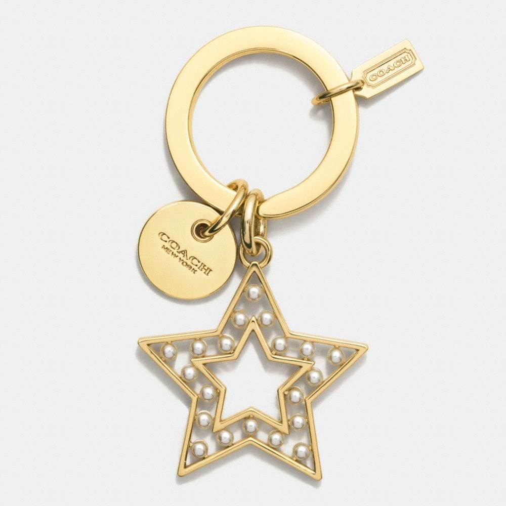 PEARL STAR KEY RING