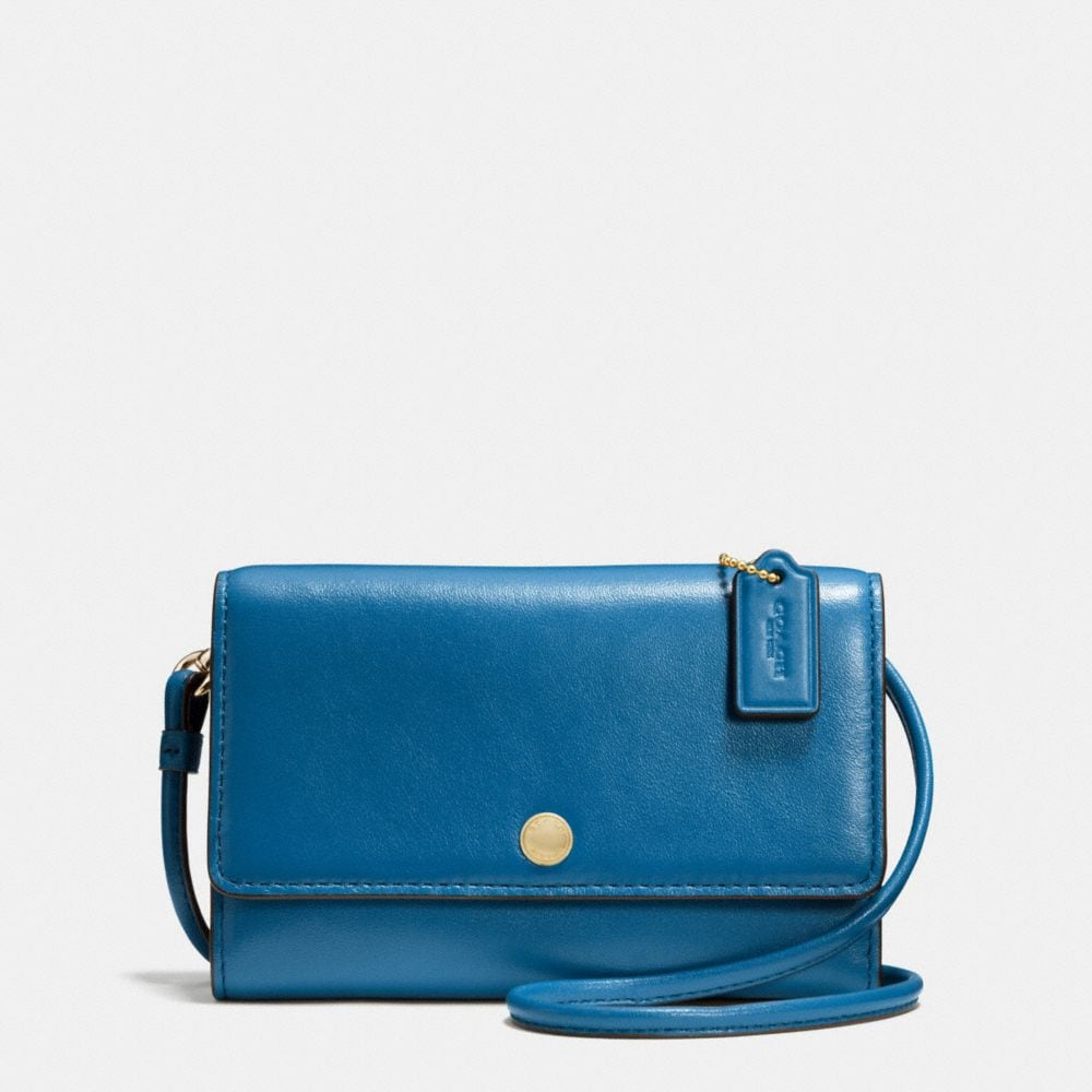 PHONE CROSSBODY IN SMOOTH LEATHER