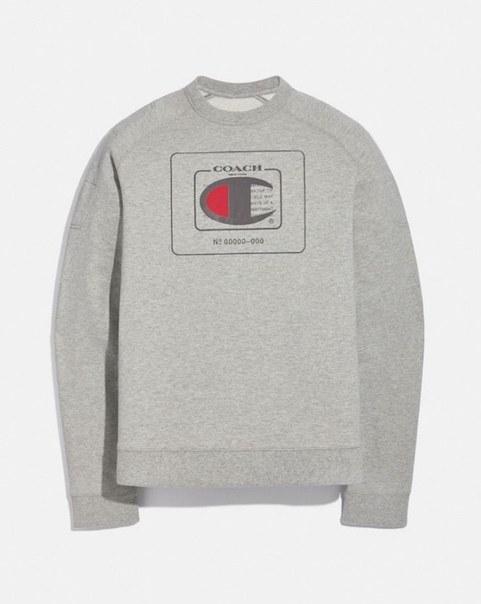 SWEAT-SHIRT COACH X CHAMPION