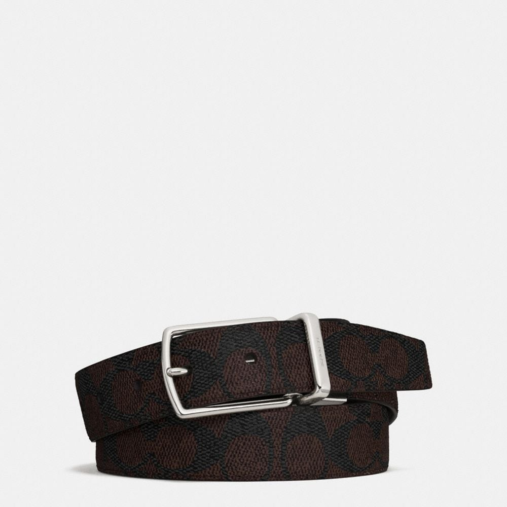 MODERN HARNESS CUT-TO-SIZE REVERSIBLE SIGNATURE BELT