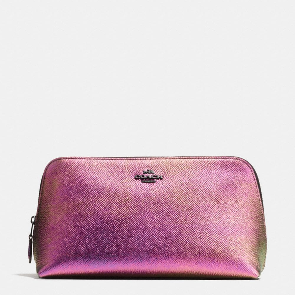 COSMETIC CASE 22 IN HOLOGRAM LEATHER