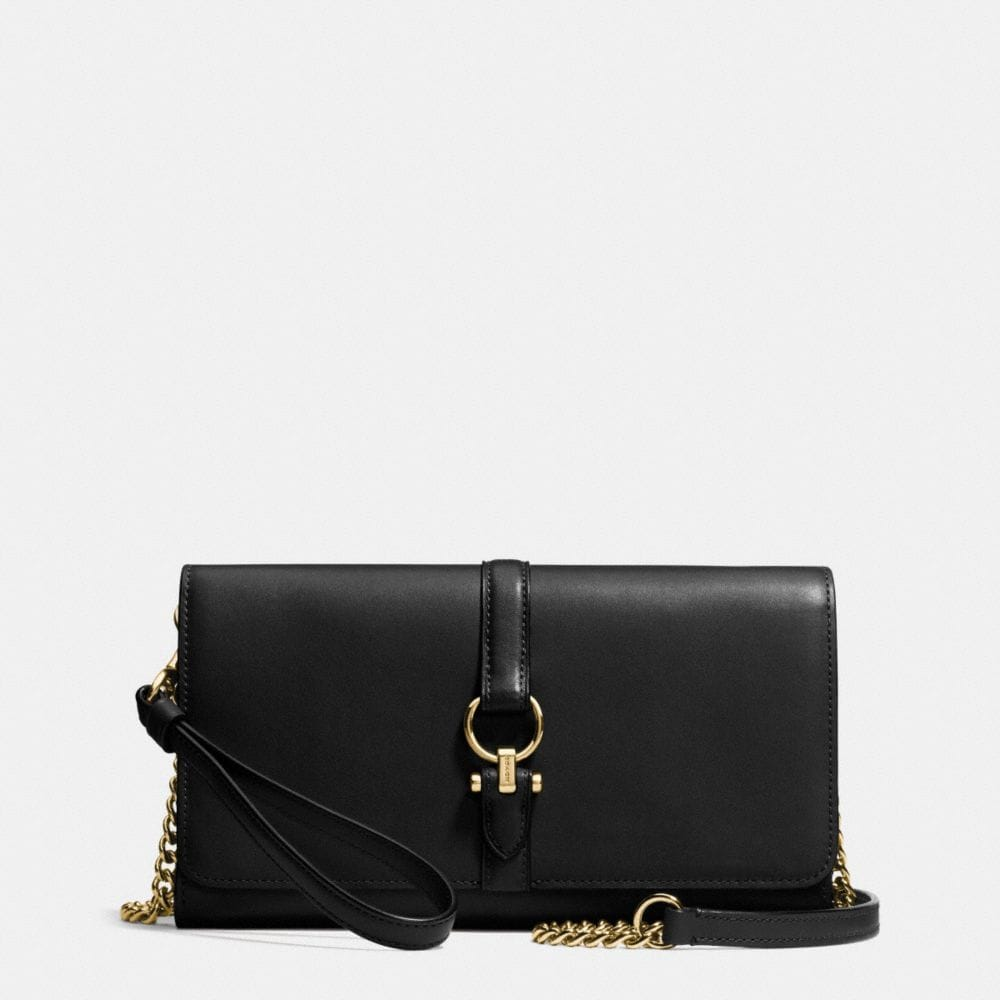 COACH NOMAD CROSSBODY CLUTCH IN GLOVETANNED LEATHER