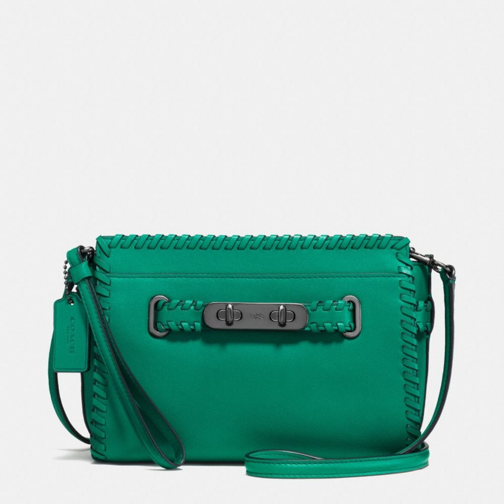 RIP AND REPAIR COACH SWAGGER WRISTLET IN GLOVETANNED LEATHER