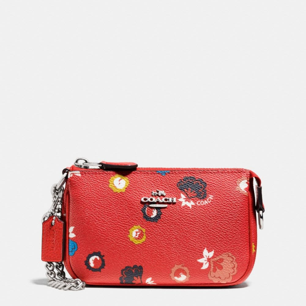 NOLITA WRISTLET 15 IN WILD PRAIRIE PRINT COATED CANVAS