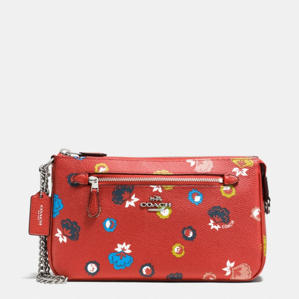 NOLITA WRISTLET 24 IN WILD PRAIRIE PRINT COATED CANVAS