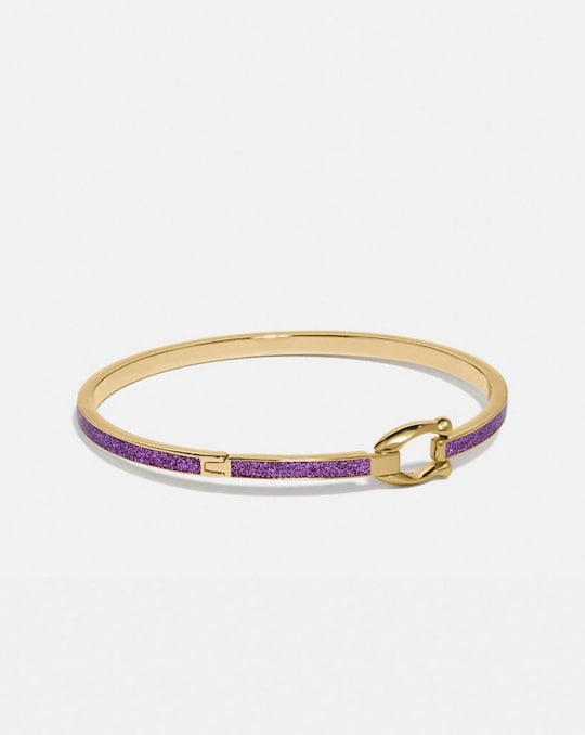 GLITTER SIGNATURE HOOK BANGLE