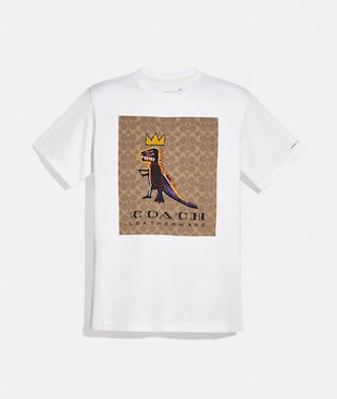 COACH X JEAN-MICHEL BASQUIAT T-SHIRT