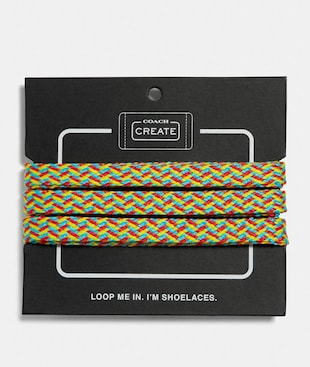 NEON MULTI SHOE LACES