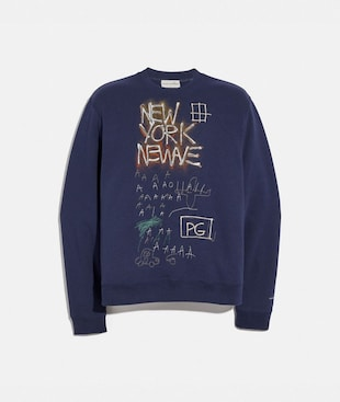 SWEAT-SHIRT COACH X JEAN-MICHEL BASQUIAT