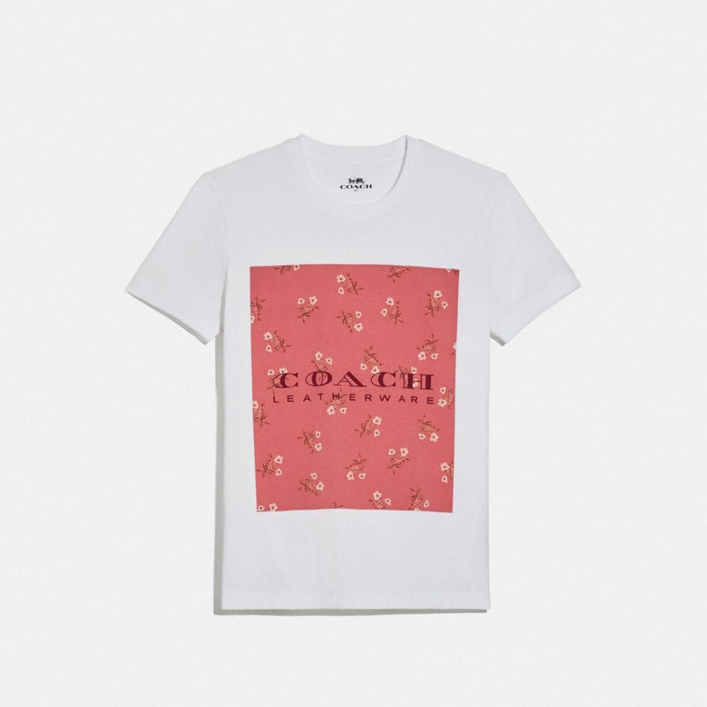 MOTHER'S DAY FLORAL PRINT T-SHIRT