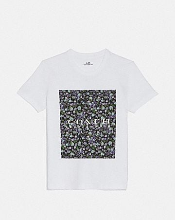 low priced 2a6af 01aeb MOTHER S DAY FLORAL PRINT T-SHIRT ...