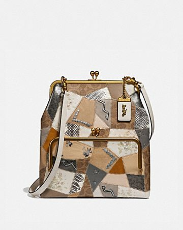 DOUBLE FRAME CROSSBODY 26 WITH SIGNATURE PATCHWORK