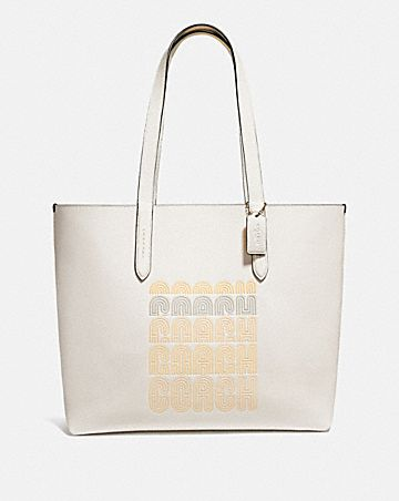 HIGHLINE TOTE MIT COACH PRINT