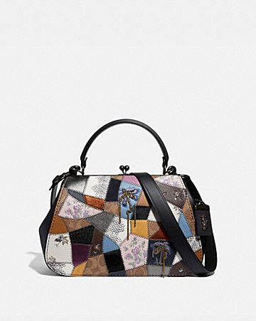 FRAME BAG WITH PATCHWORK ...