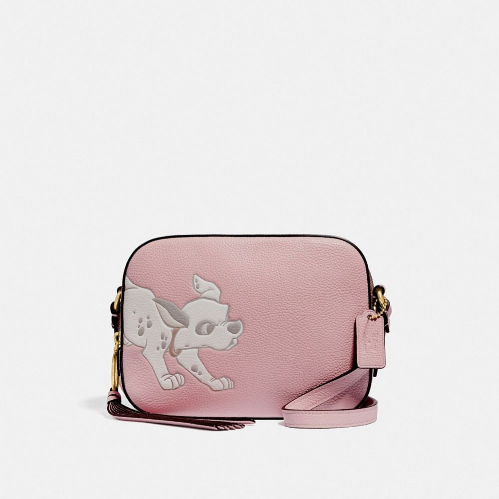 DISNEY X COACH CAMERA BAG WITH DALMATIAN