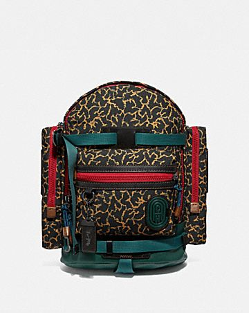 d1989a77be RIDGE BACKPACK WITH GRAPHIC ANIMAL PRINT