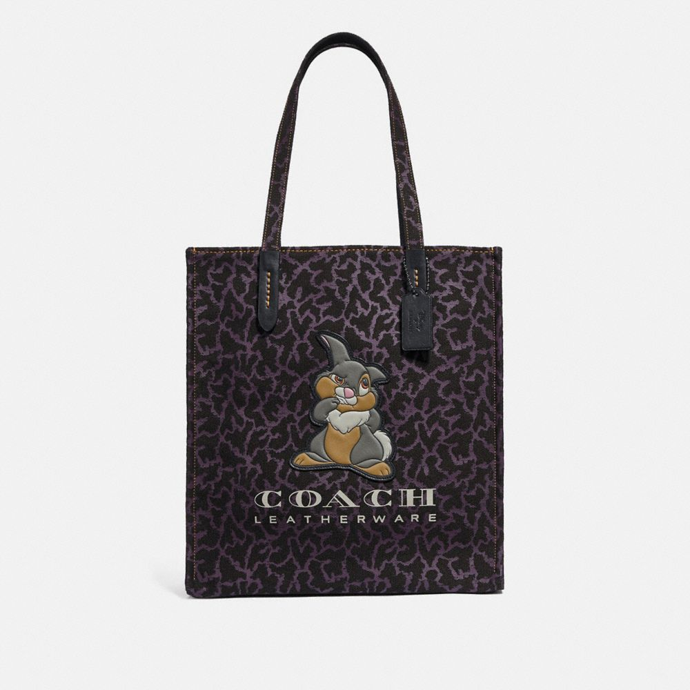 BORSA LARGA DISNEY X COACH CON TAMBURINO