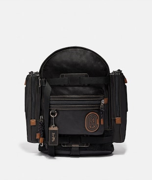RIDGE BACKPACK WITH COACH PATCH